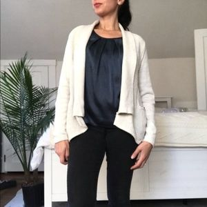 🍁Christopher & Banks Cardigan with pockets beige